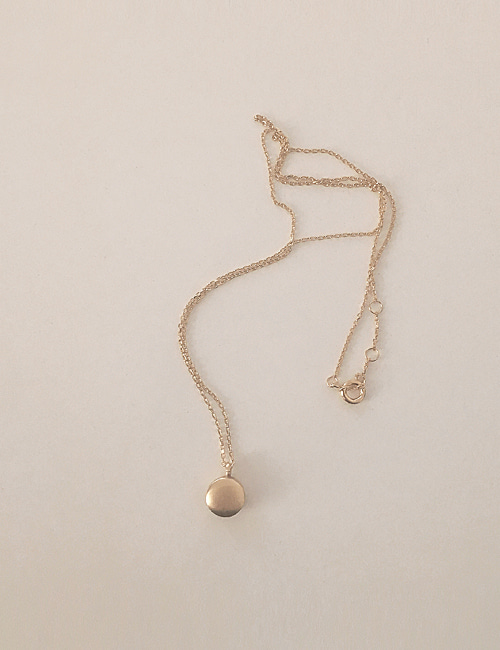 silver 925 mini mood necklace[gold]