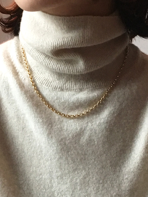 Straight necklace[gold]