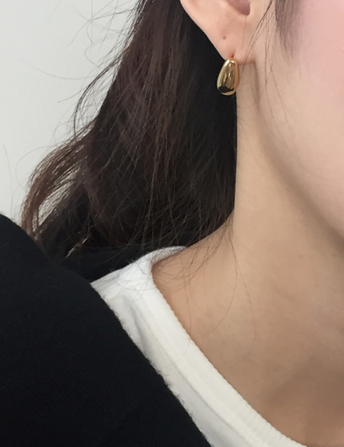 silver 925 maple earring[2color]