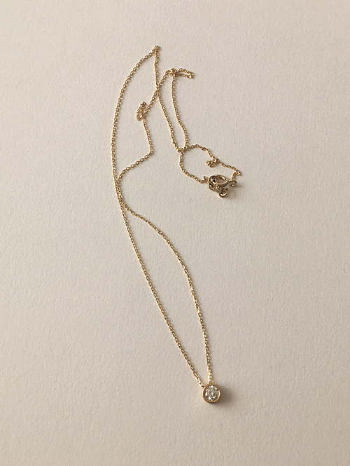 14k water necklace